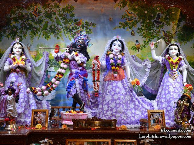 Sri Sri Radha Madan Gopal Lalita Vishakha Wallpaper (002) Size 1280×1024 Download