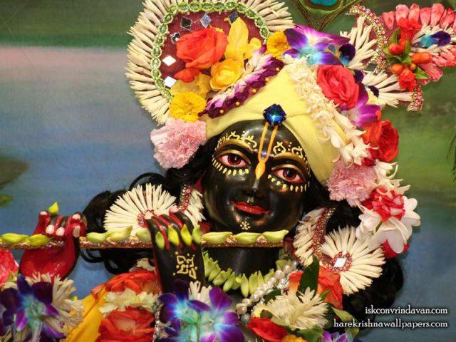 Sri Shyamsundar Close up Wallpaper (003)