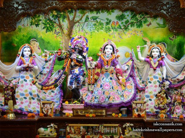 Sri Sri Radha Madan Gopal Lalita Vishakha Wallpaper (003) Size 1280×1024 Download