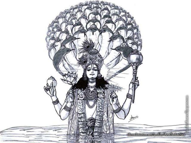 Sri Vishnu Wallpaper (004)