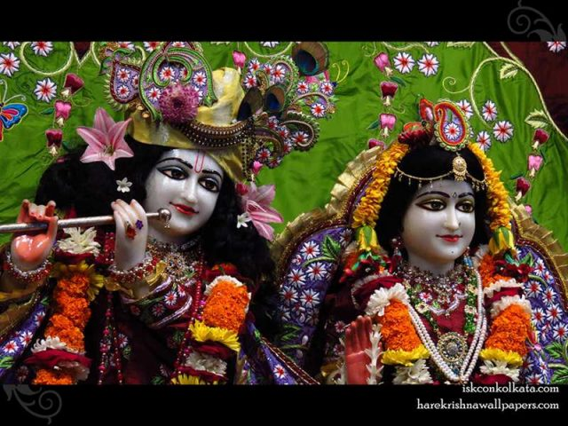 Sri Sri Radha Govind Close up Wallpaper (005)