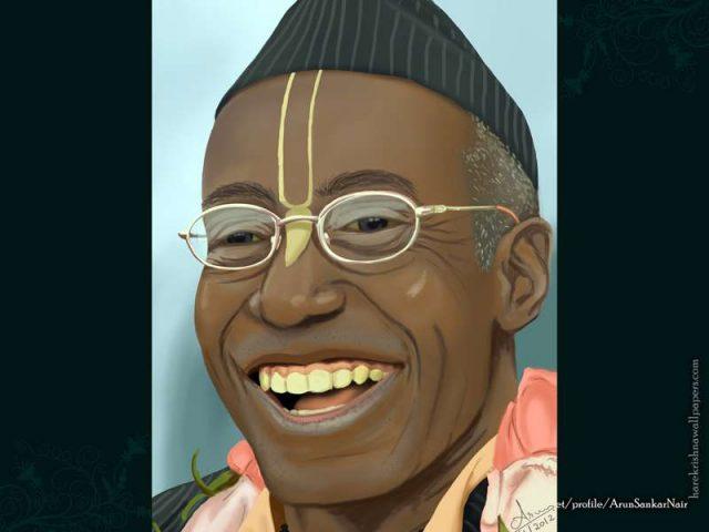 His Holiness Bhakti Tirtha Swami Wallpaper (006)
