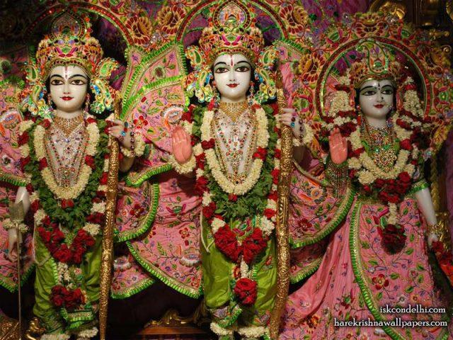 Sri Sri Sita Rama Laxman Wallpaper (006)