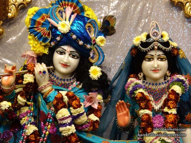 Sri Sri Radha Govinda Close up Wallpaper (007)