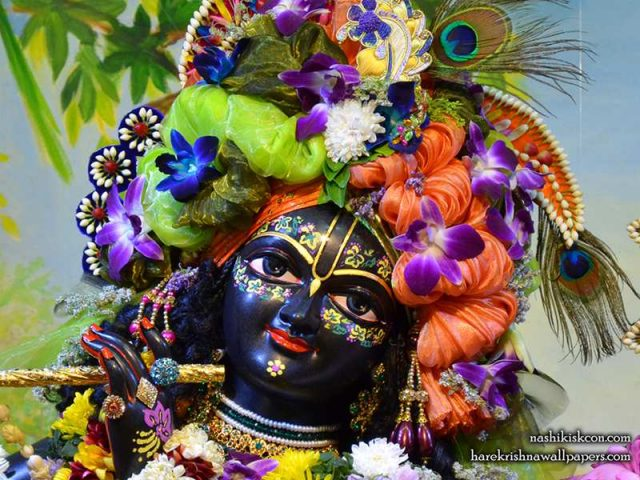 Sri Madan Gopal Close up Wallpaper (009)