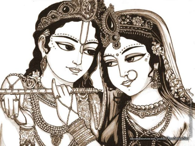 Radha Krishna Wallpaper (022)