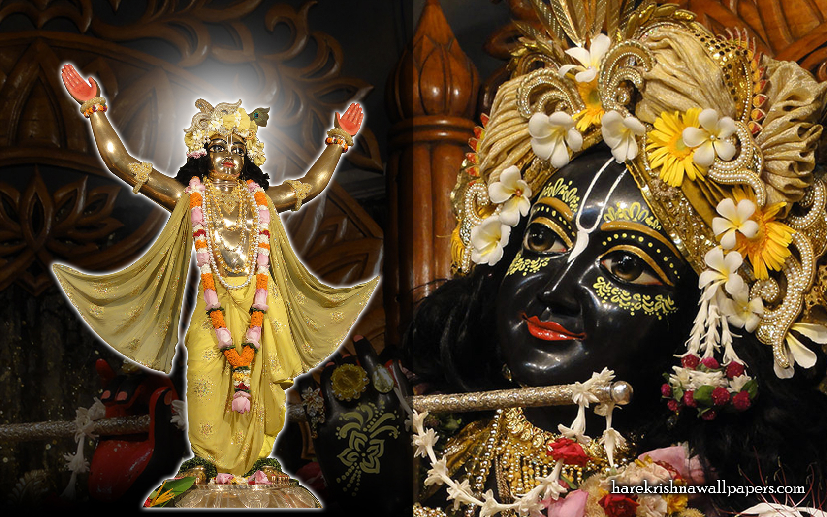 Chaitanya Mahaprabhu Wallpaper (003) Size 1680x1050 Download