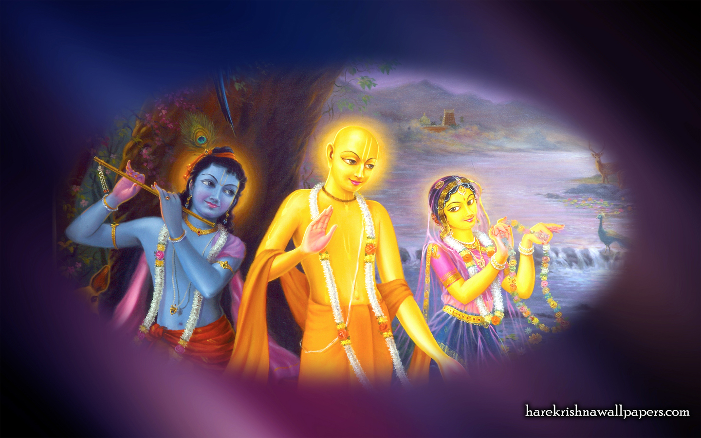 Chaitanya Mahaprabhu Wallpaper (006) Size 1440x900 Download