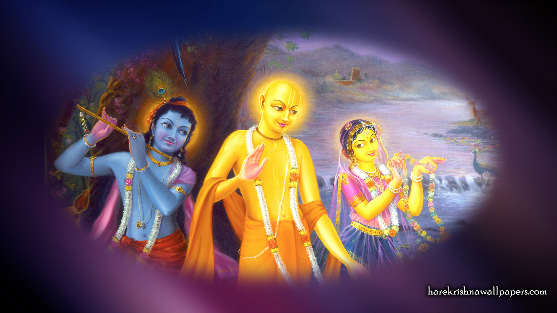 Chaitanya Mahaprabhu Wallpaper (006) Size 1920x1080 Download