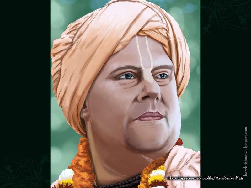 His Holiness Jayapataka Wallpaper (004)