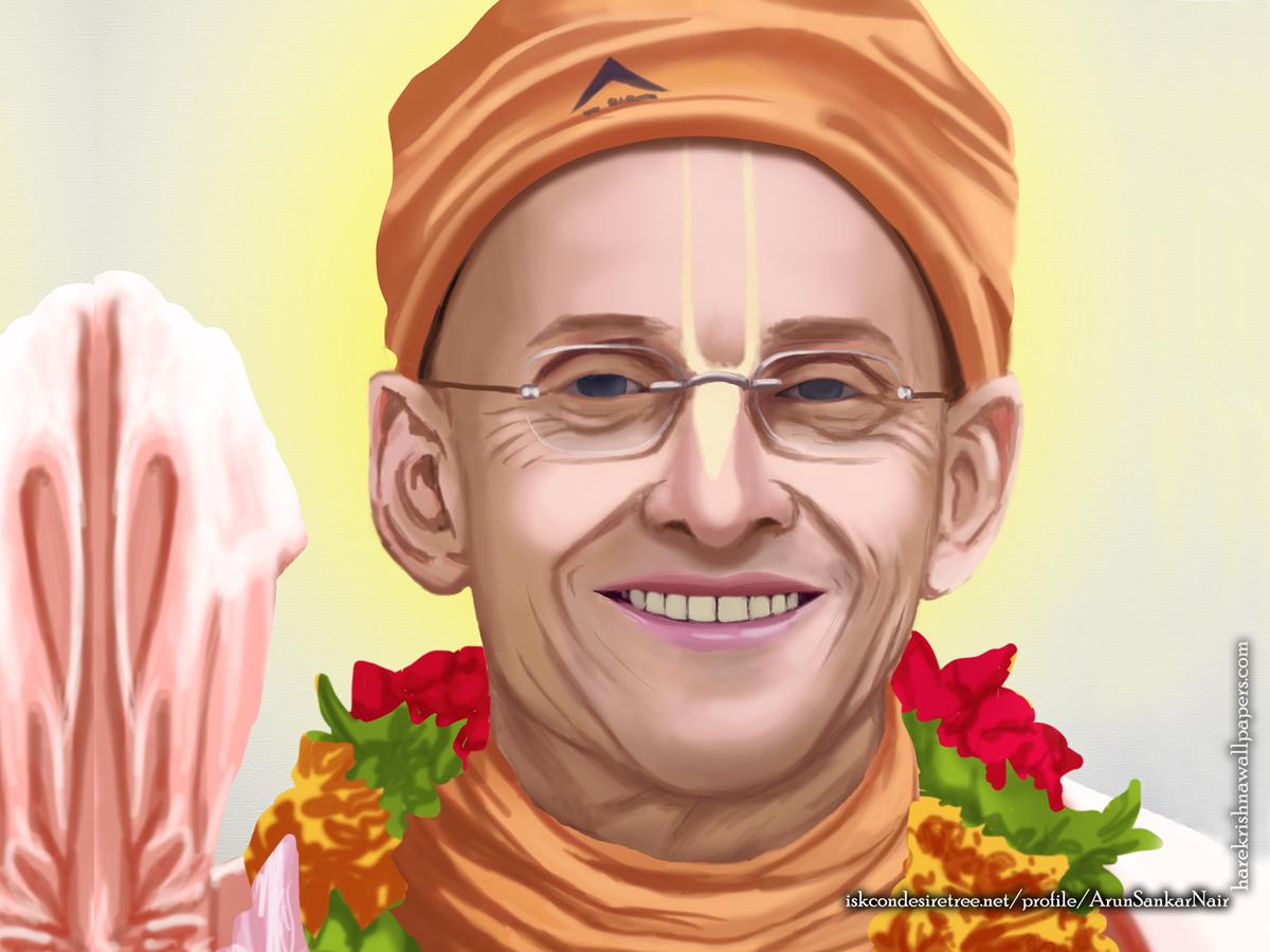 His Holiness Kadamba Kanana Swami Wallpaper (005) Size1200x900 Download