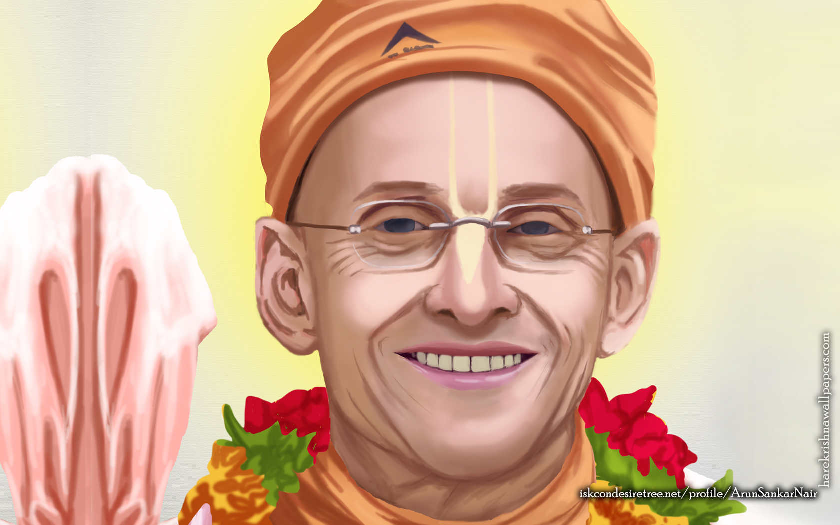 His Holiness Kadamba Kanana Swami Wallpaper (005) Size 1680x1050 Download