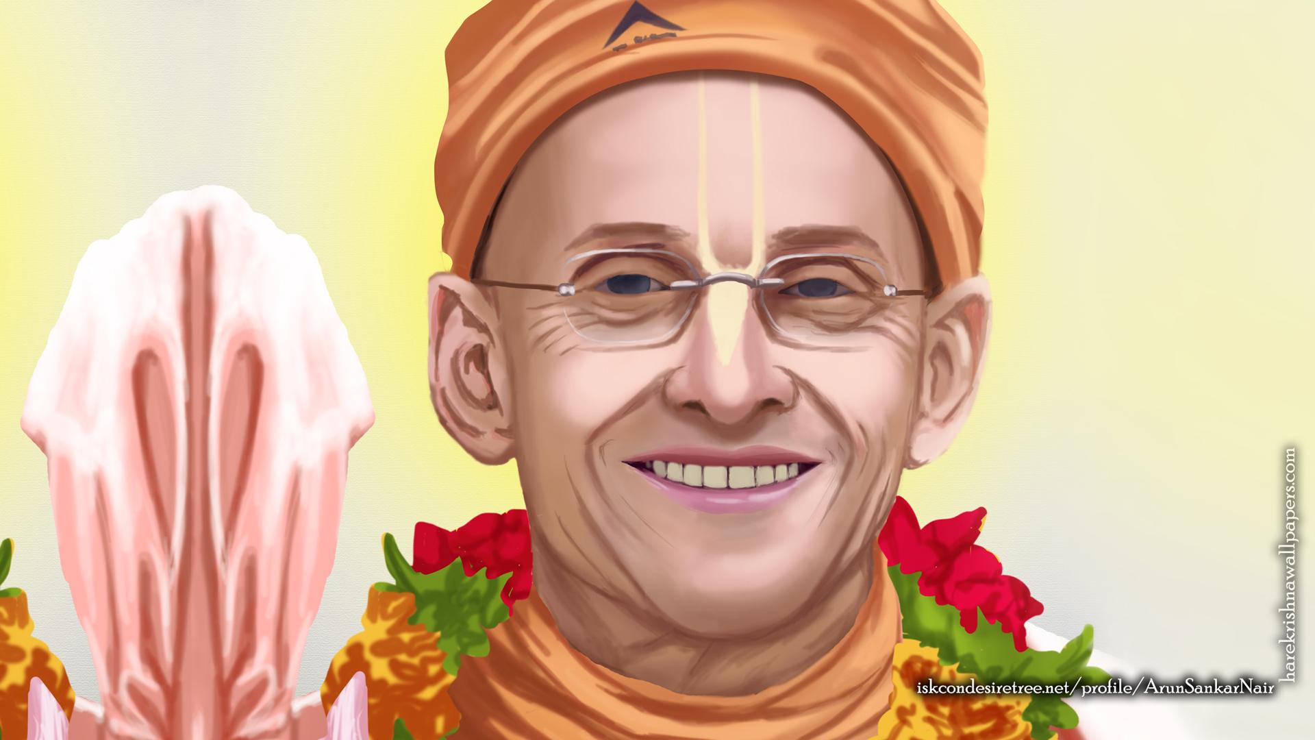 His Holiness Kadamba Kanana Swami Wallpaper (005) Size 1920x1080 Download