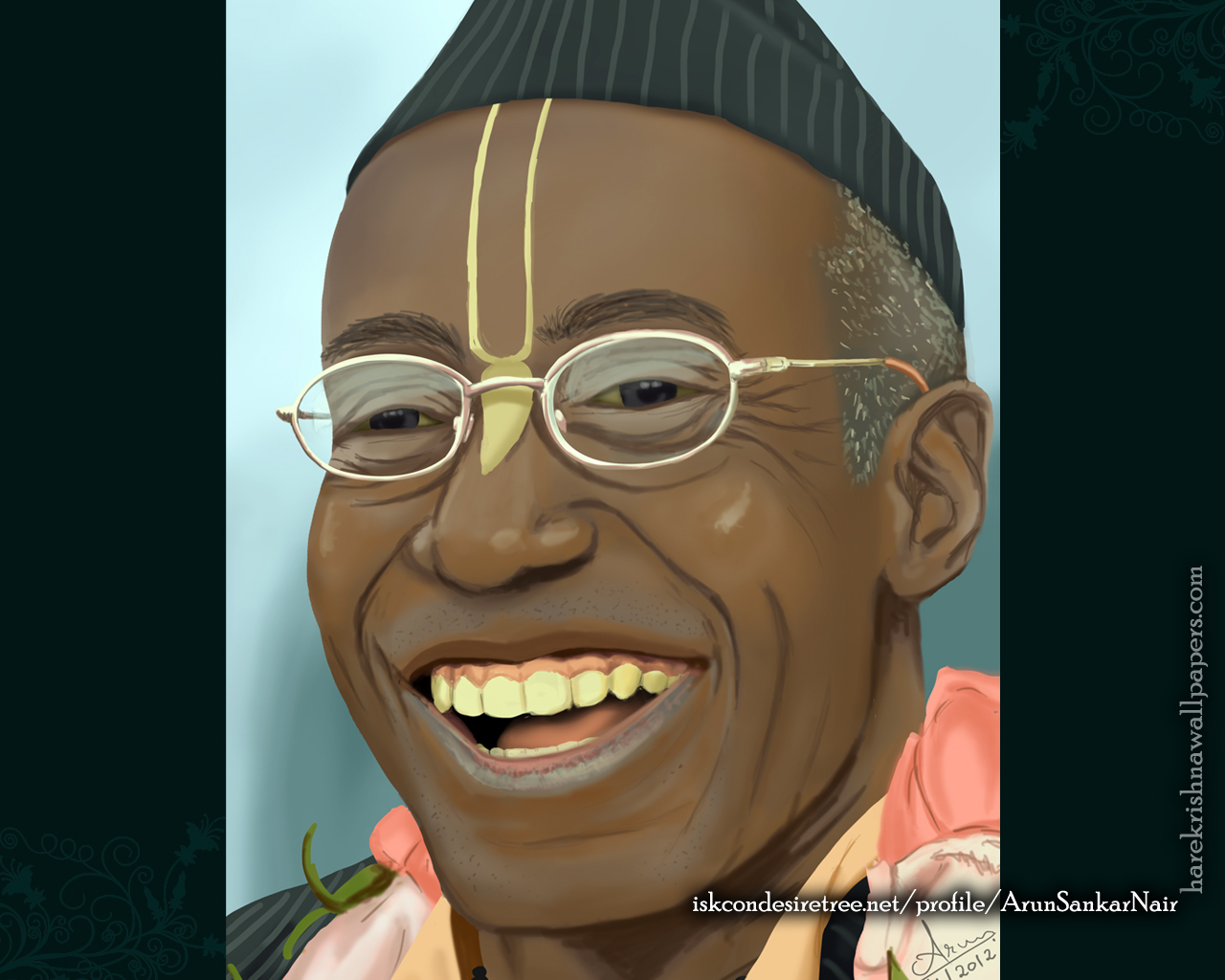 His Holiness Bhakti Tirtha Swami Wallpaper (006) Size 1280x1024 Download