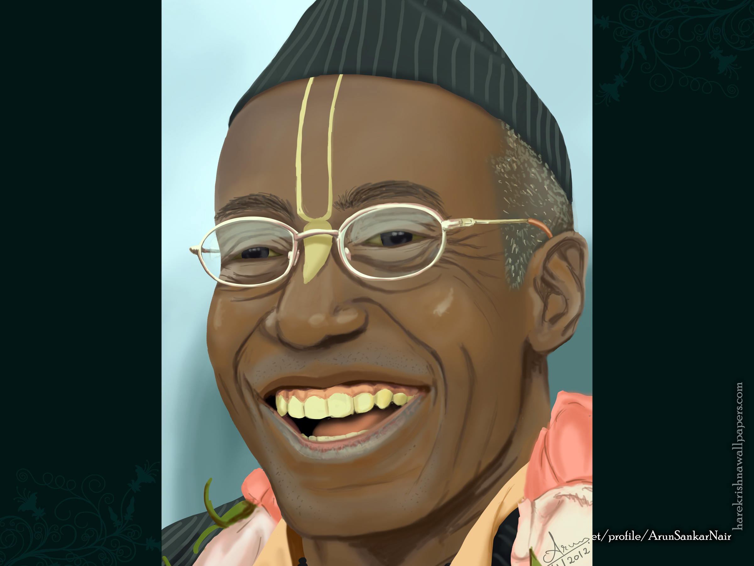 His Holiness Bhakti Tirtha Swami Wallpaper (006) Size 2400x1800 Download