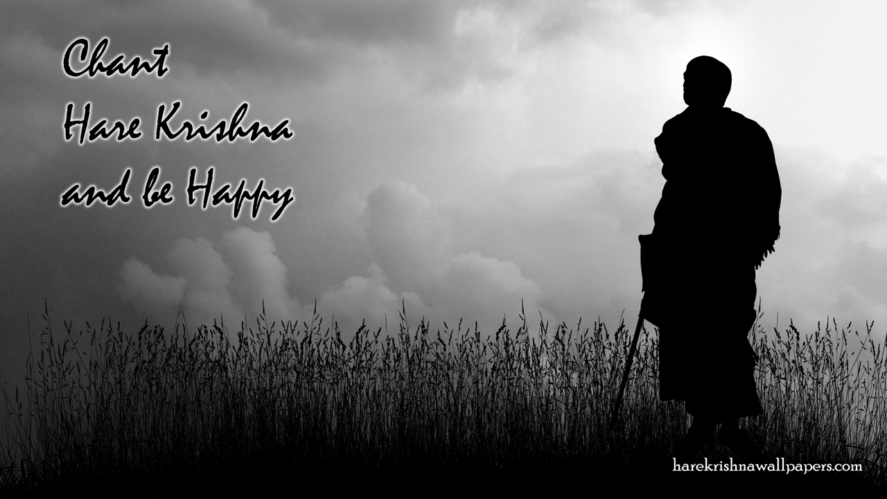 Chant Hare Krishna and be happy Wallpaper (001) Size1280x720 Download