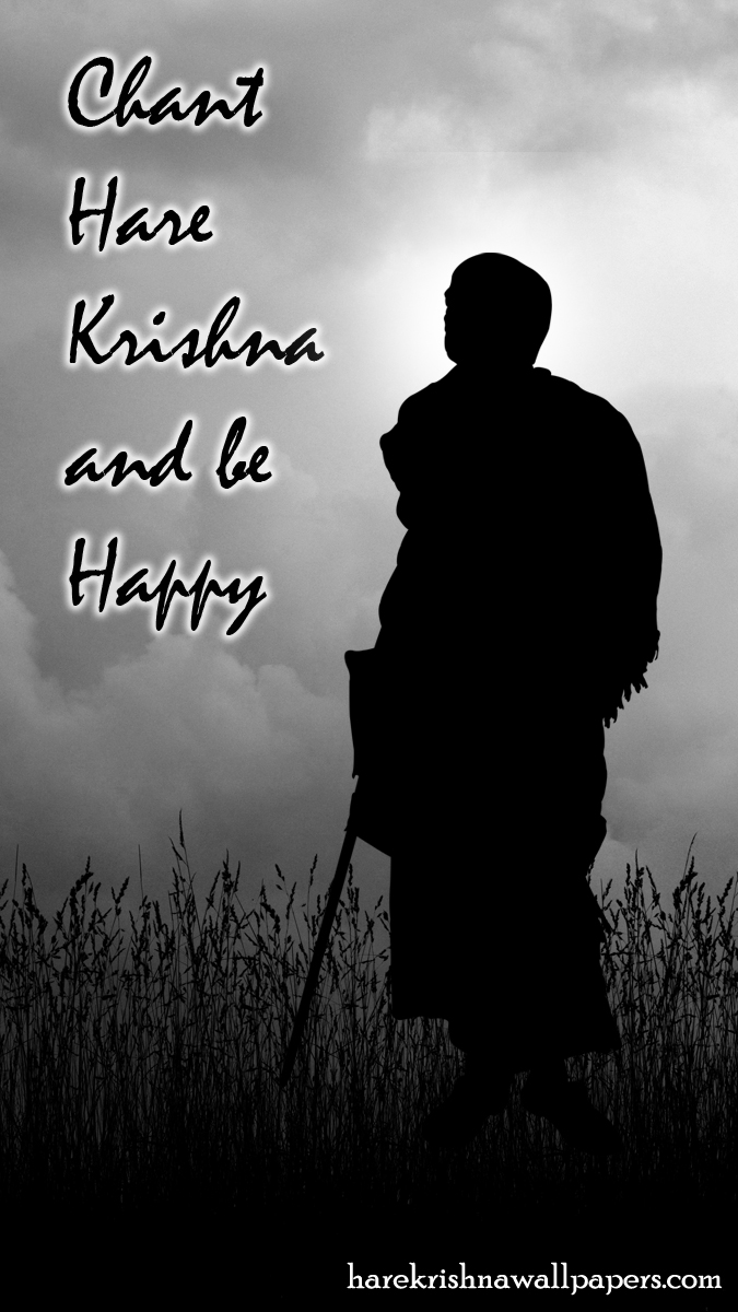 Chant Hare Krishna and be happy Wallpaper (001) Size 675x1200 Download