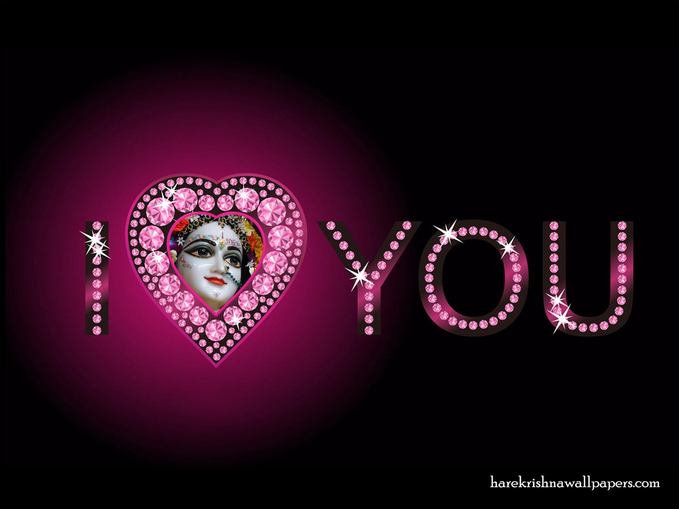 I Love You Radharani Wallpaper (013) Size 1400x1050 Download