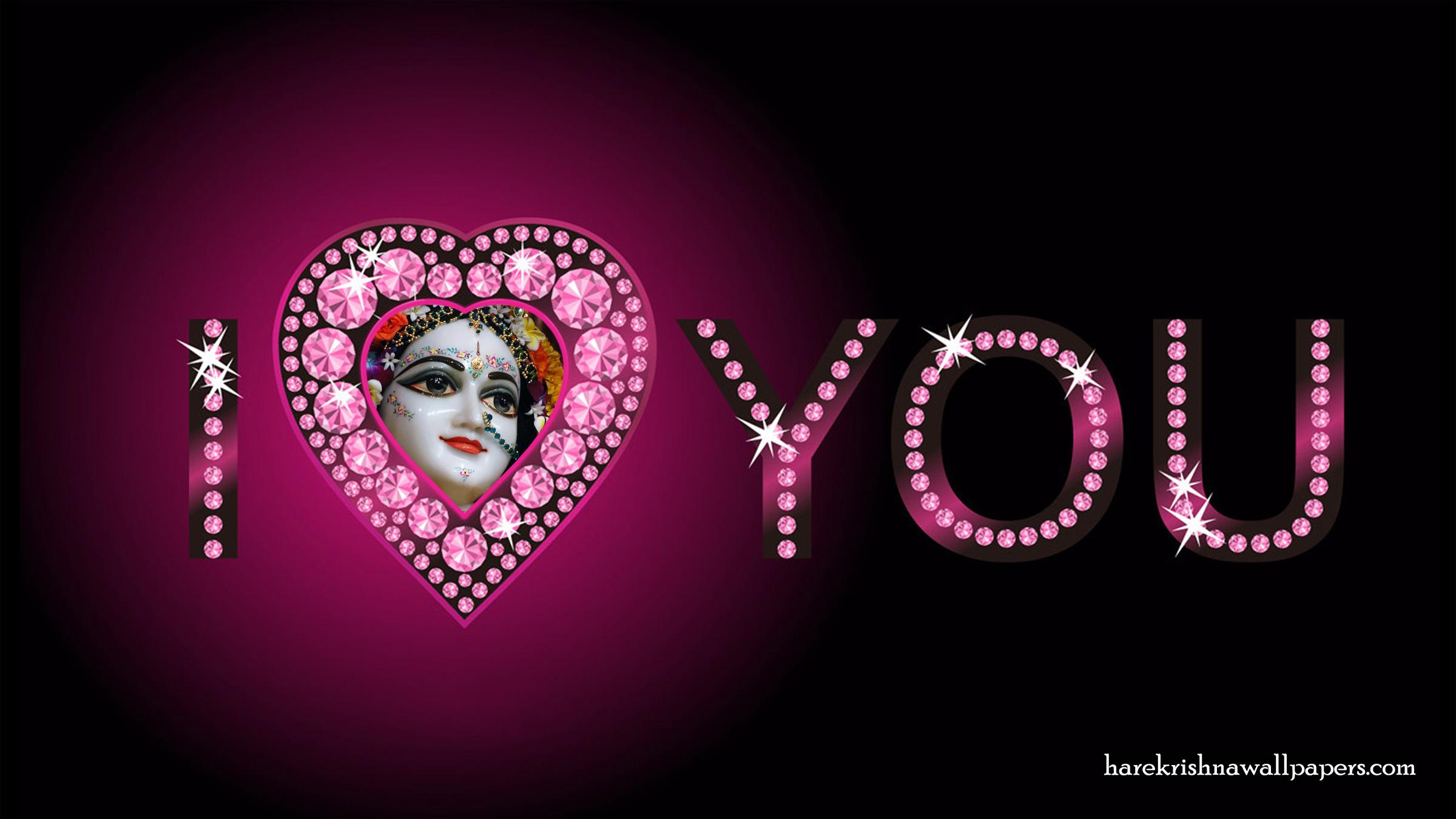 I Love You Radharani Wallpaper (013) Size 2400x1350 Download