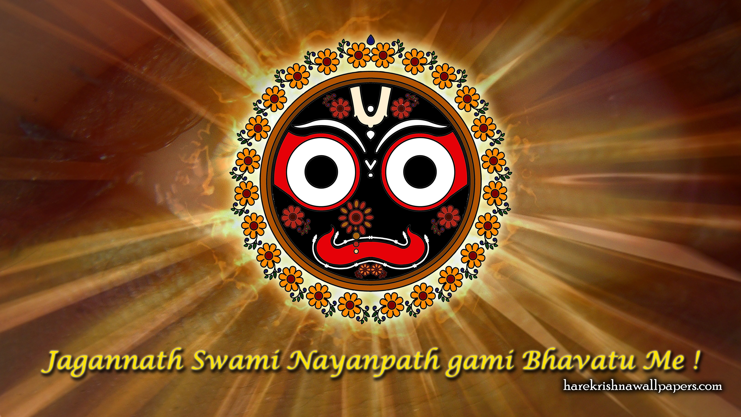 Jai Jagannath Wallpaper (052) Size 2400x1350 Download