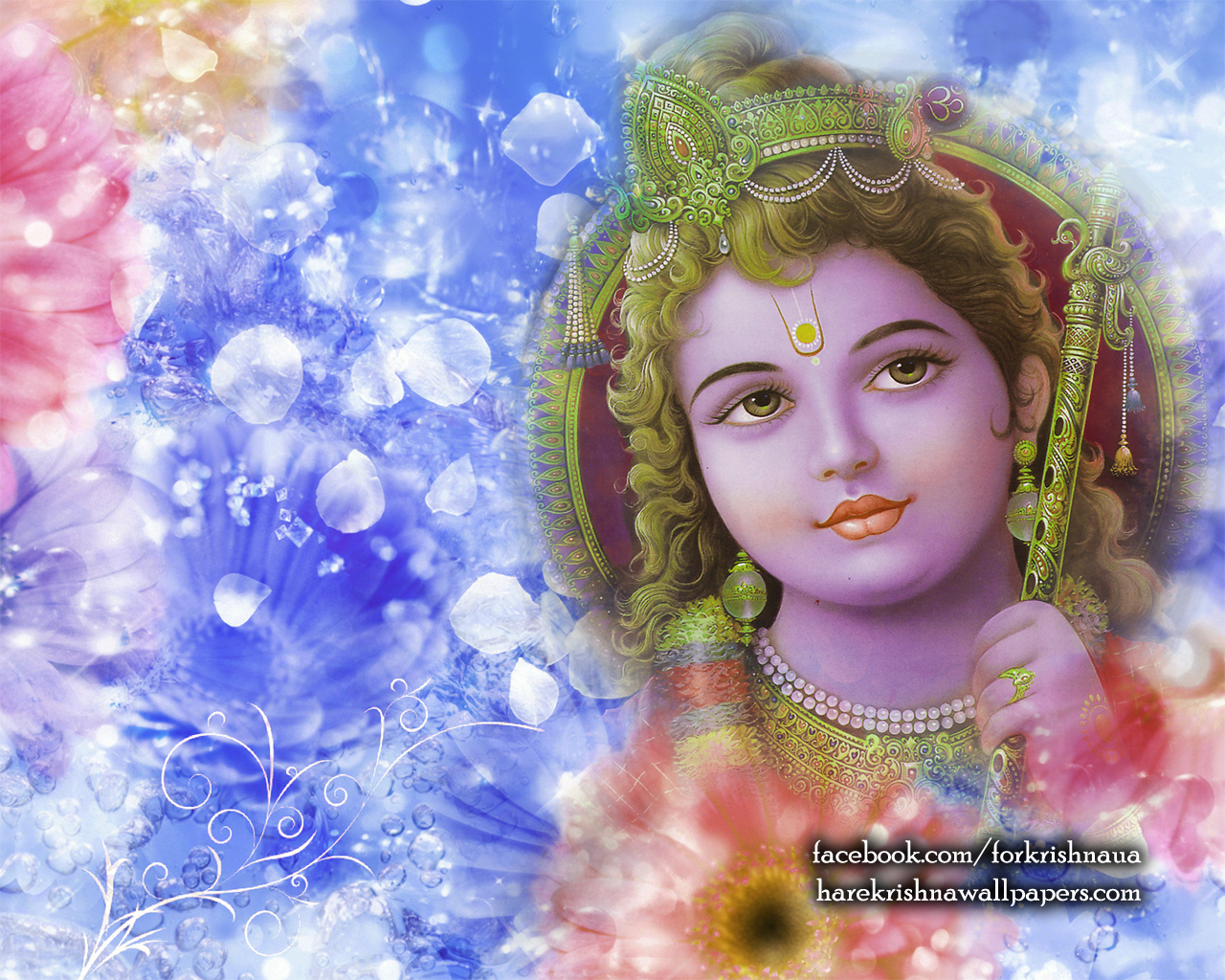 Krishna Wallpaper (006) Size 1280x1024 Download