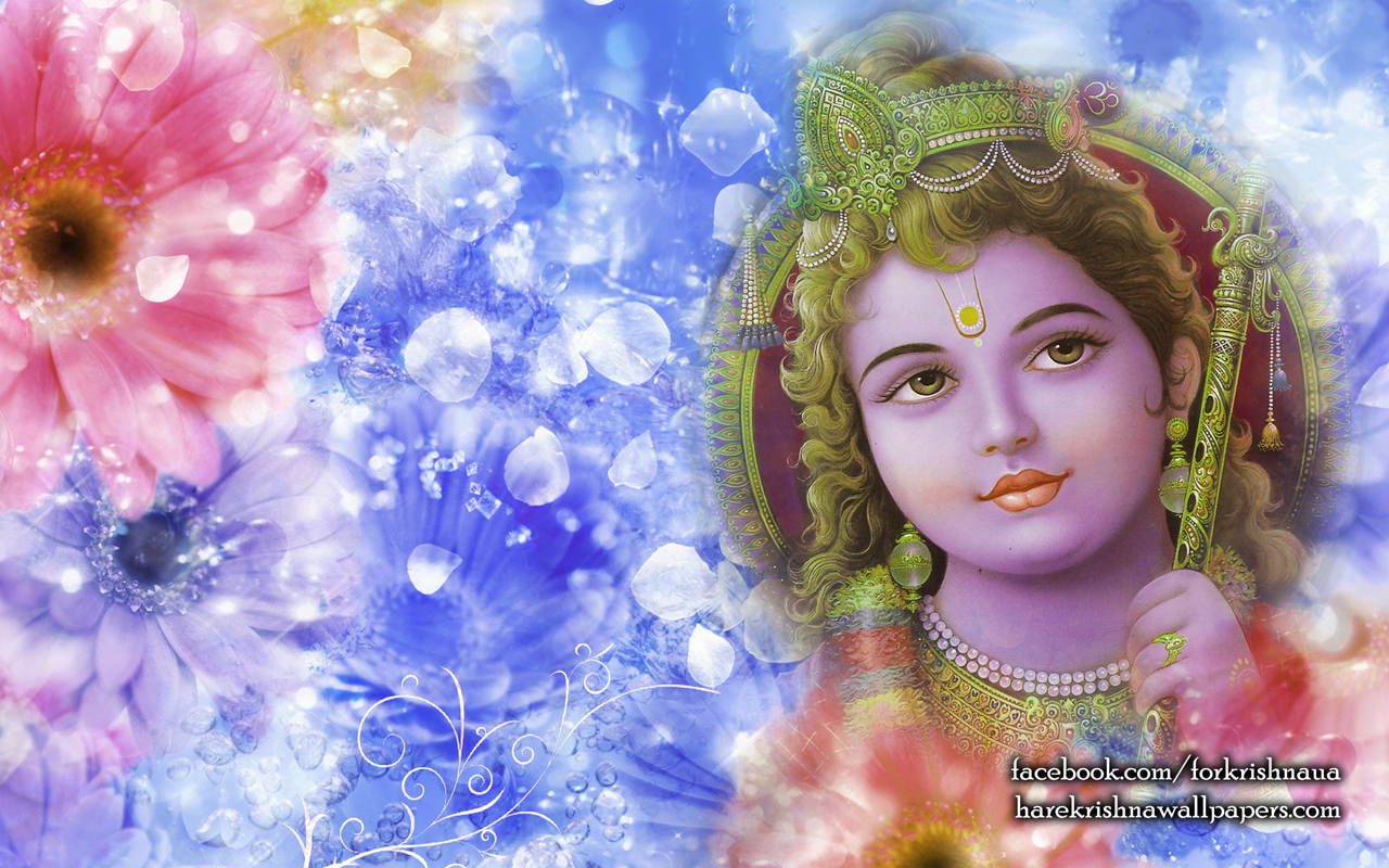 Krishna Wallpaper (006) Size 1280x800 Download