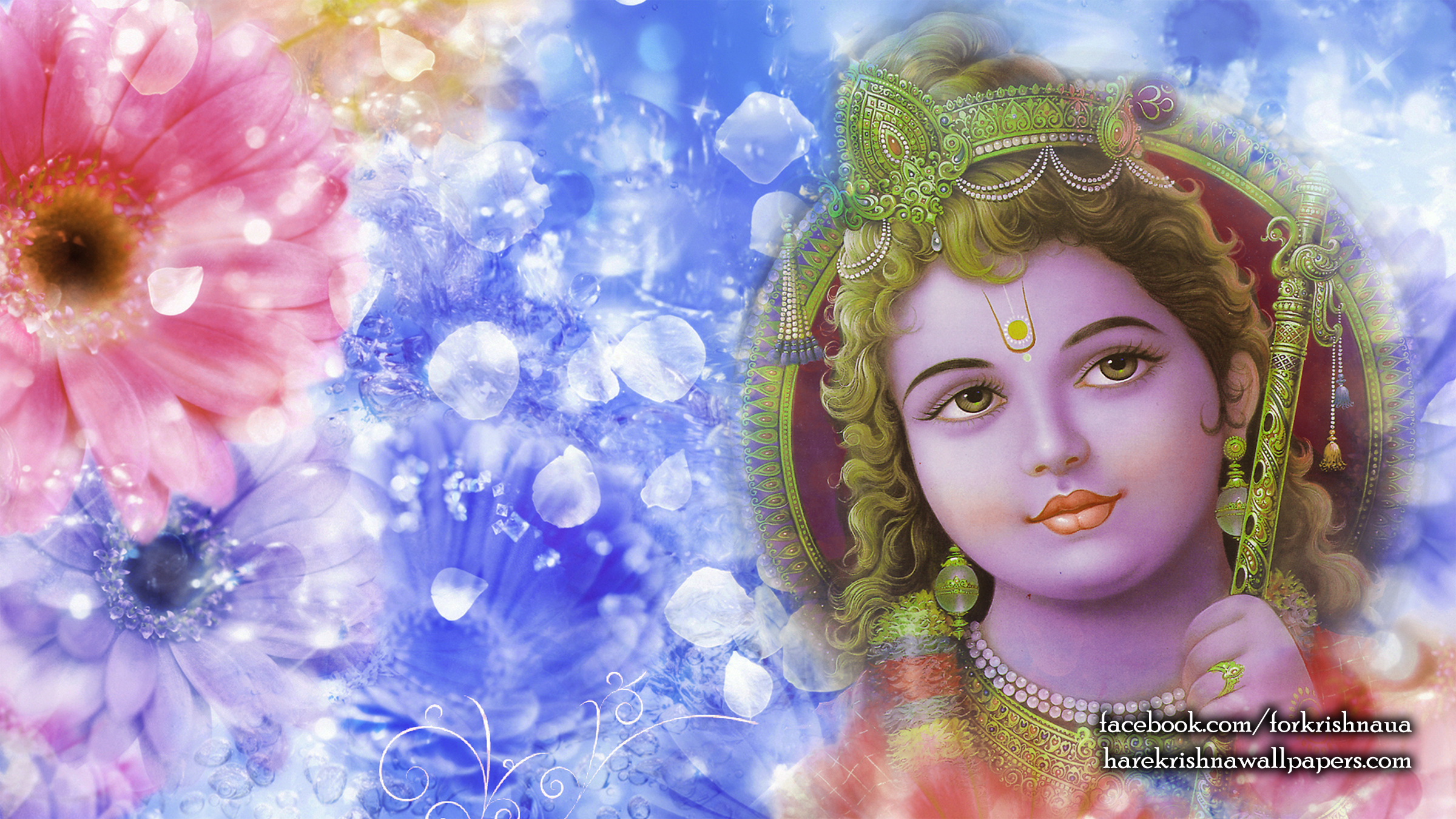 Krishna Wallpaper (006) Size 2400x1350 Download