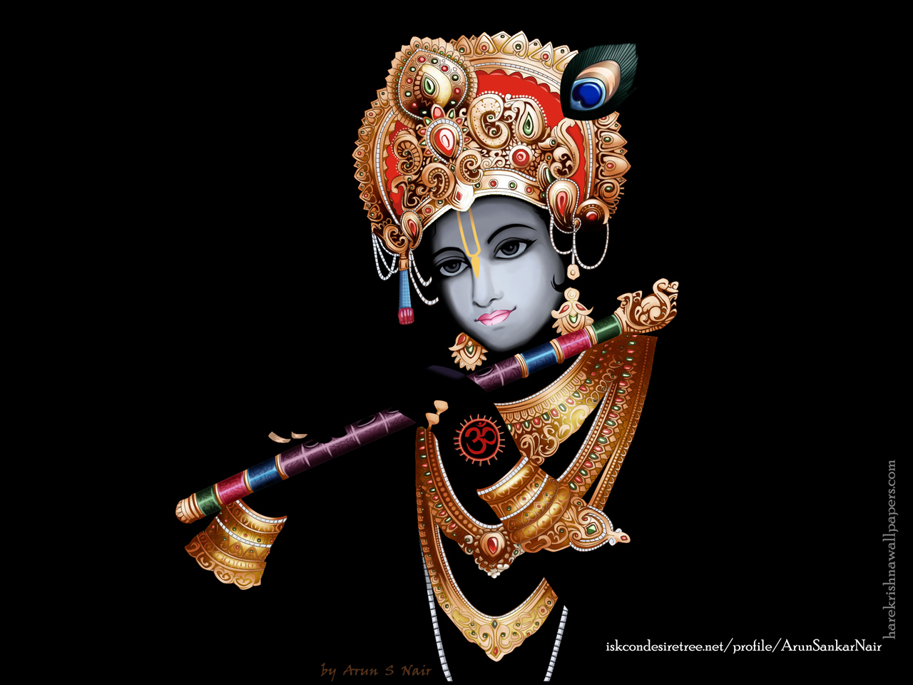 Krishna Wallpaper (016) Size 1280x960 Download