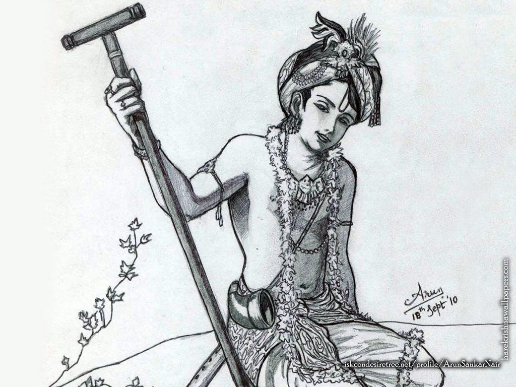 Krishna Wallpaper (029) Size 1024x768 Download