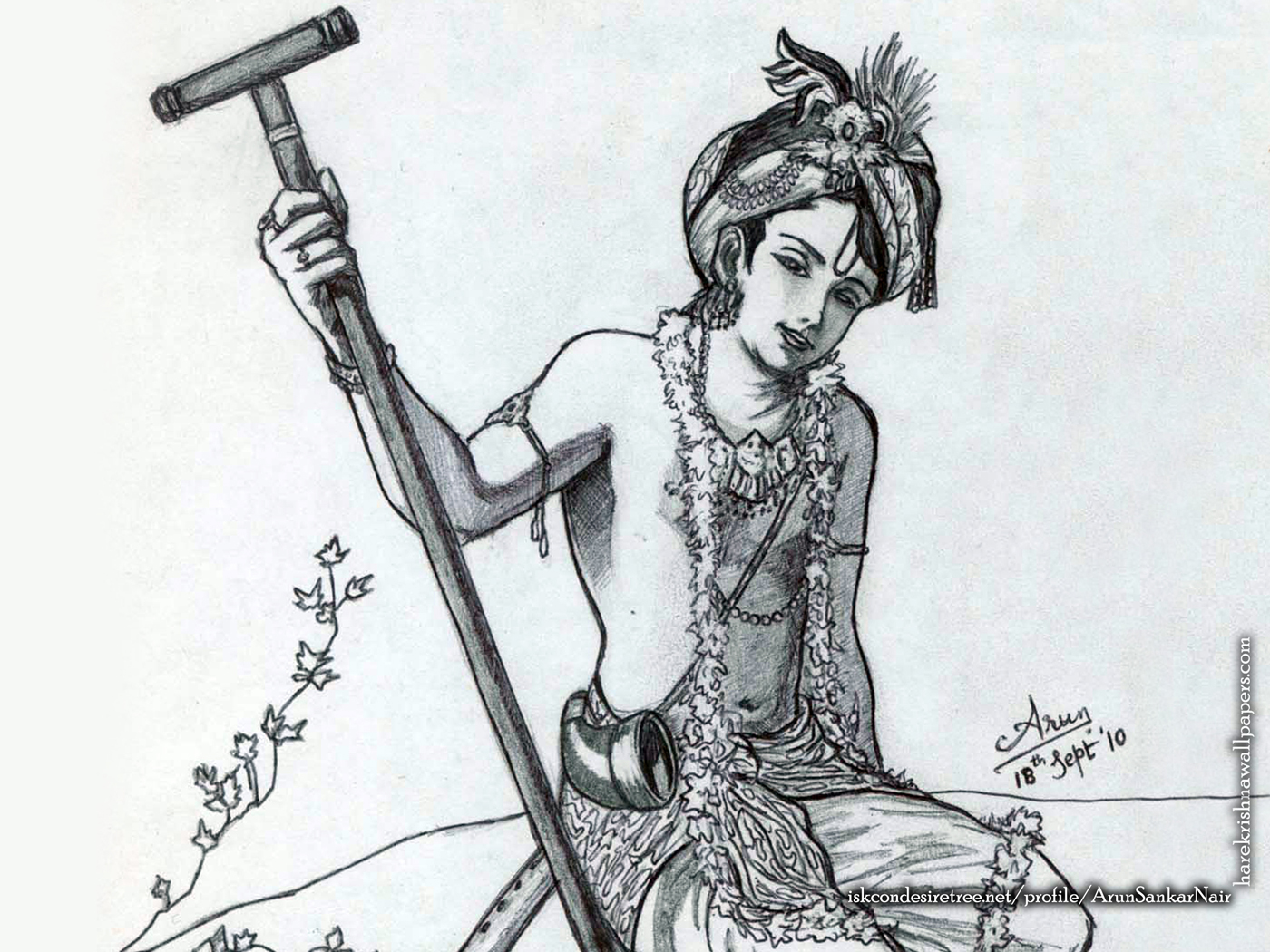 Krishna Wallpaper (029) Size 1400x1050 Download