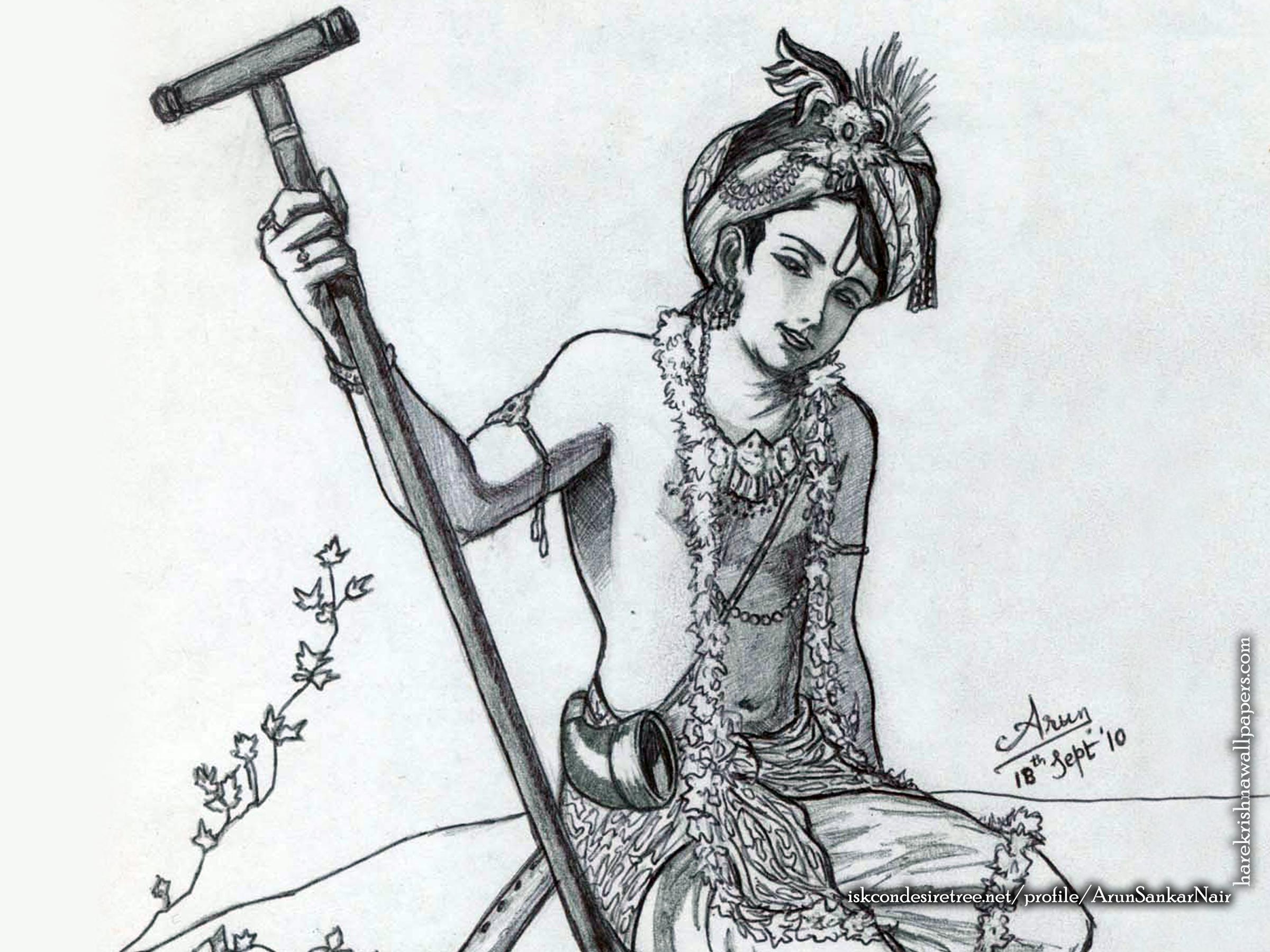 Krishna Wallpaper (029) Size 2400x1800 Download