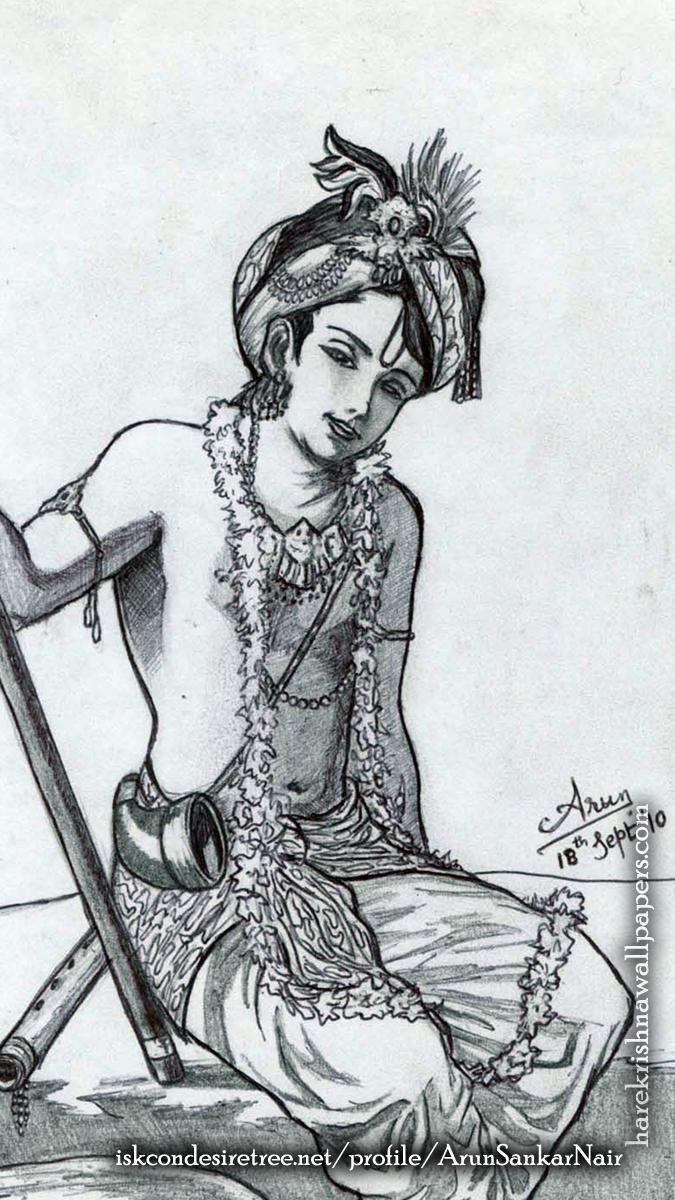 Krishna Wallpaper (029) Size 675x1200 Download