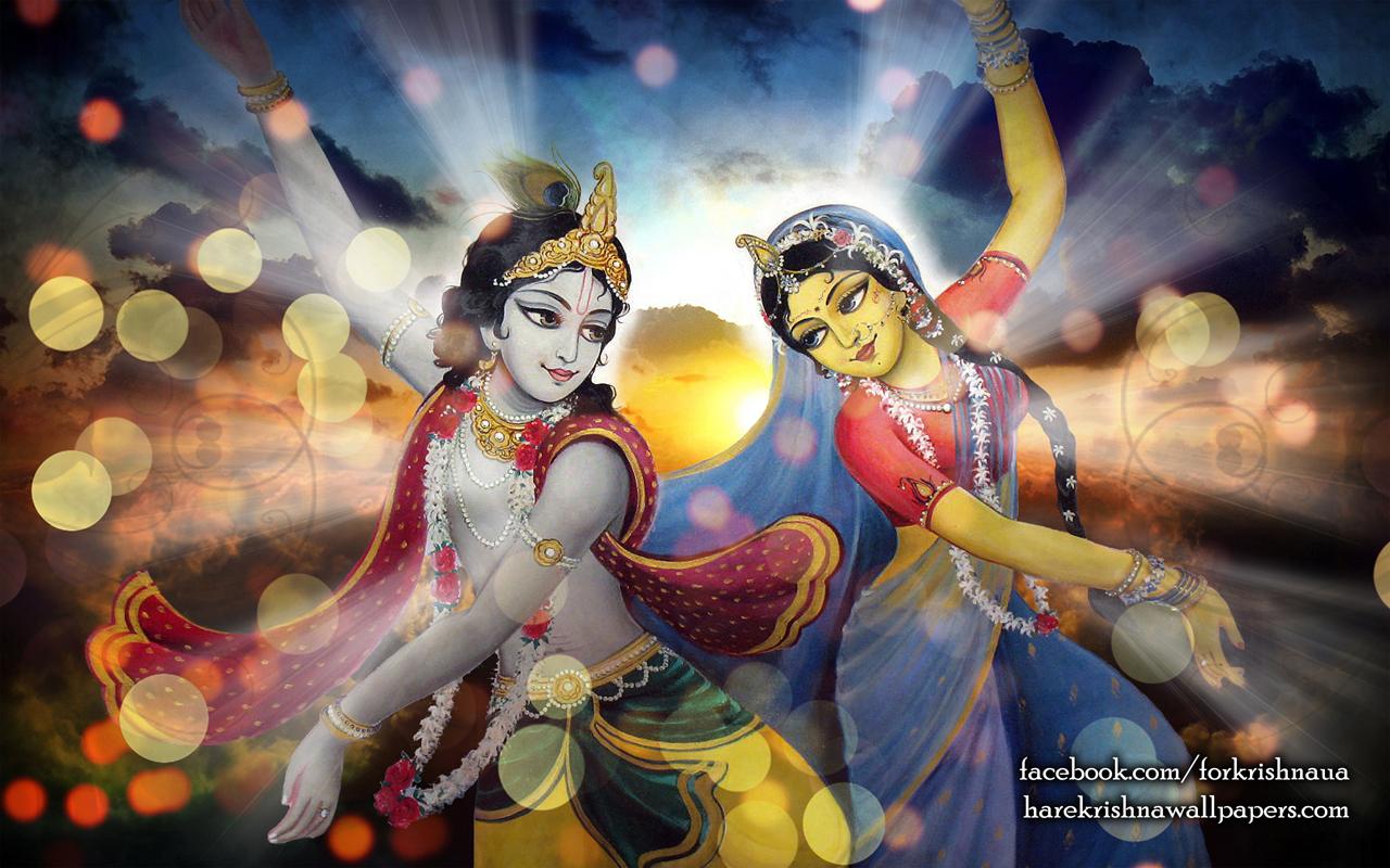 Radha Krishna Wallpaper (005) Size 1280x800 Download