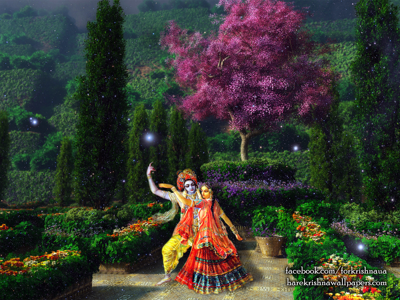 Radha Krishna Wallpaper (006) Size 1400x1050 Download