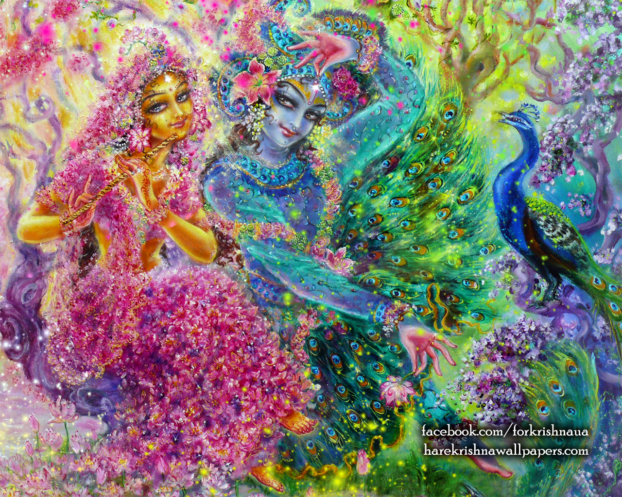 Radha Krishna Wallpaper (008) Size 1280x1024 Download