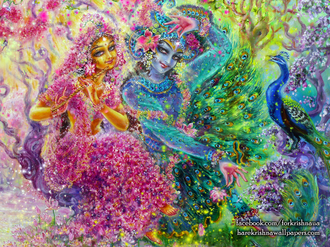 Radha Krishna Wallpaper (008) Size 1400x1050 Download