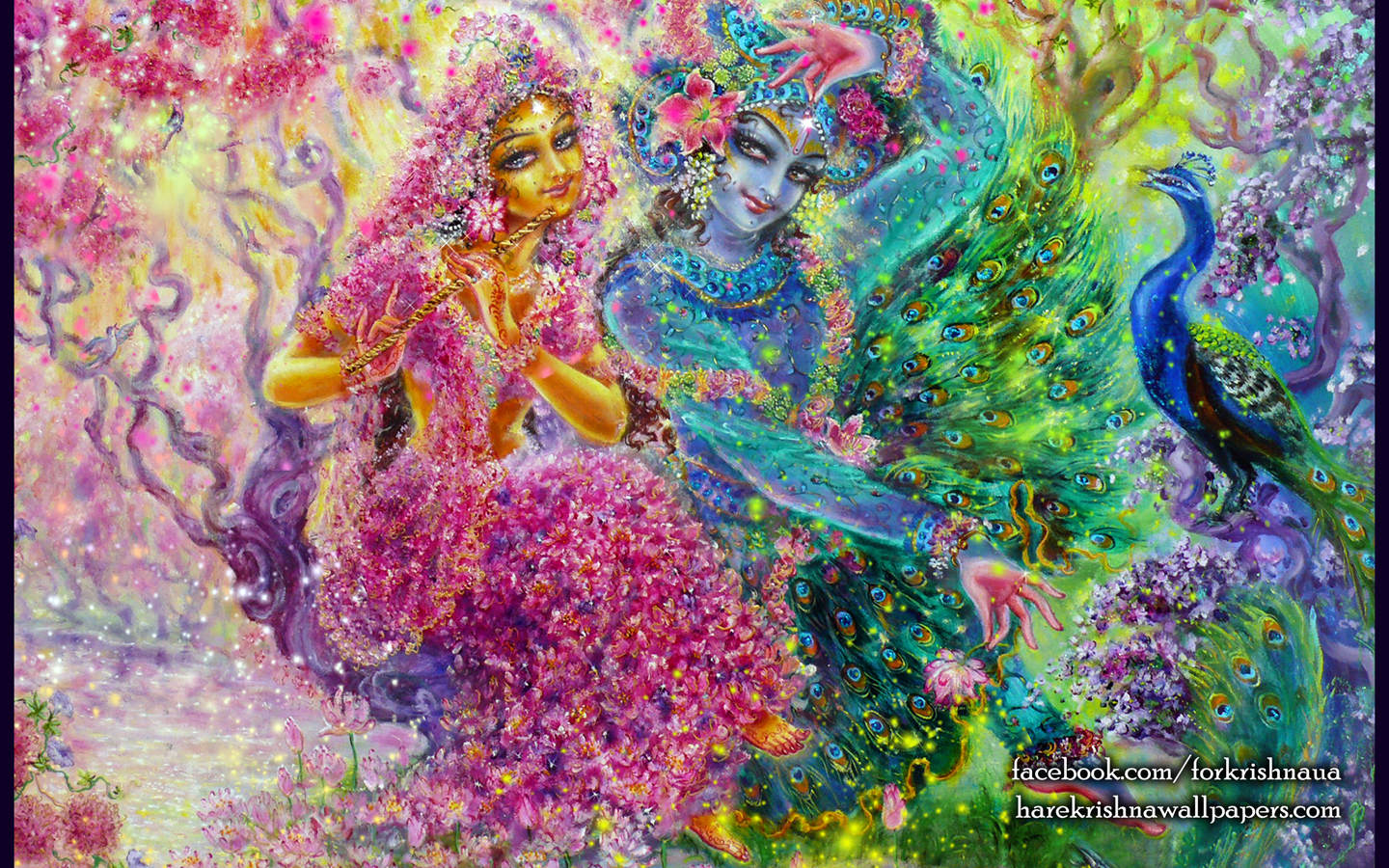 Radha Krishna Wallpaper (008) Size 1440x900 Download