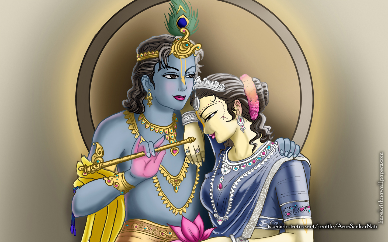 Radha Krishna Wallpaper (017) Size 1440x900 Download