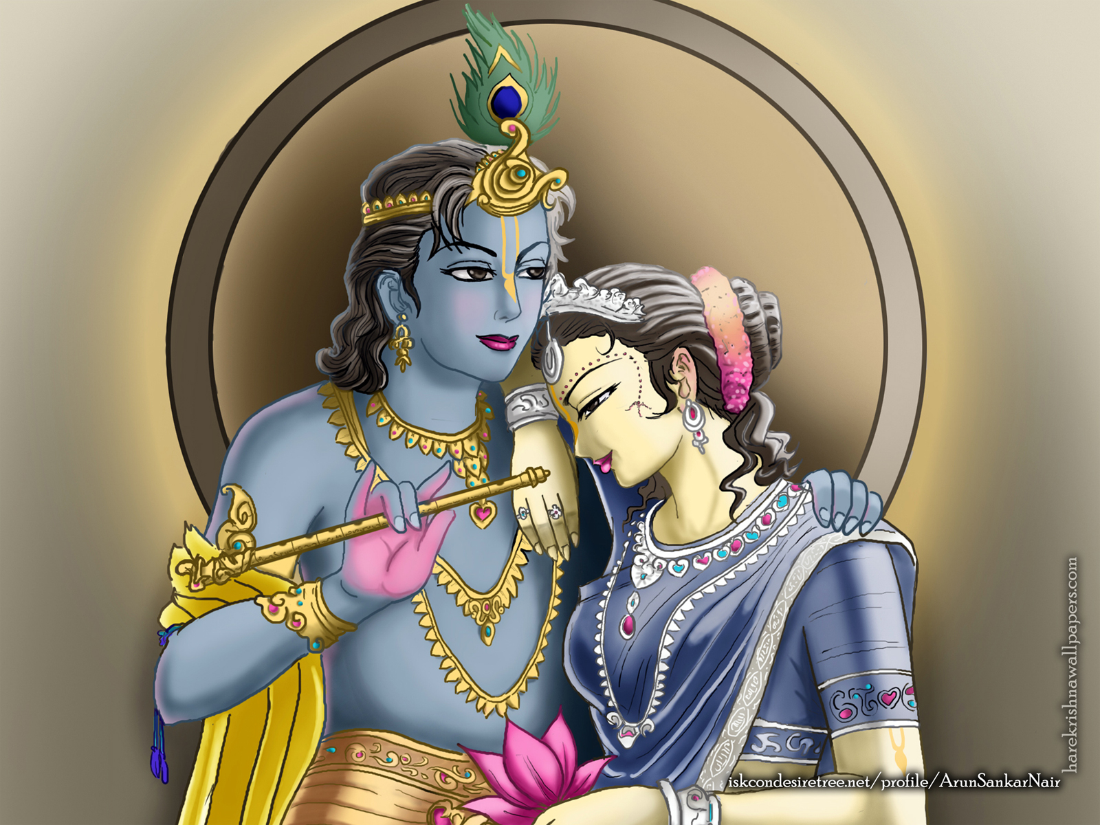 Radha Krishna Wallpaper (017) Size1600x1200 Download