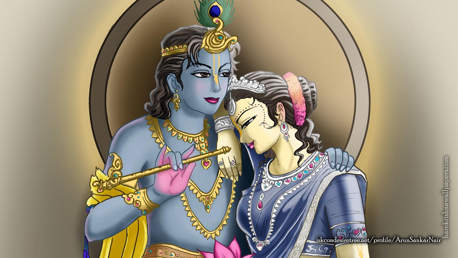 Radha Krishna Wallpaper (017) Size 1600x900 Download