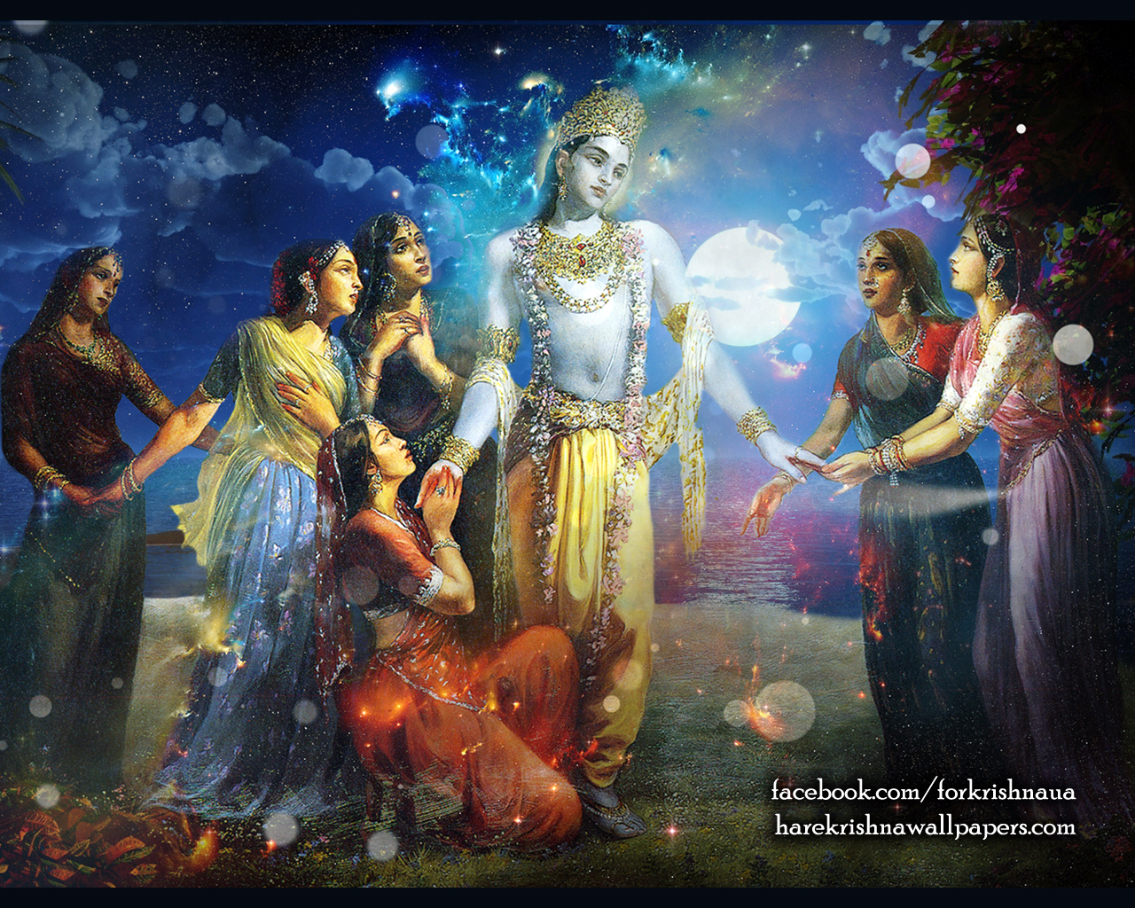Radha Krishna Wallpaper (018) Size 1280x1024 Download