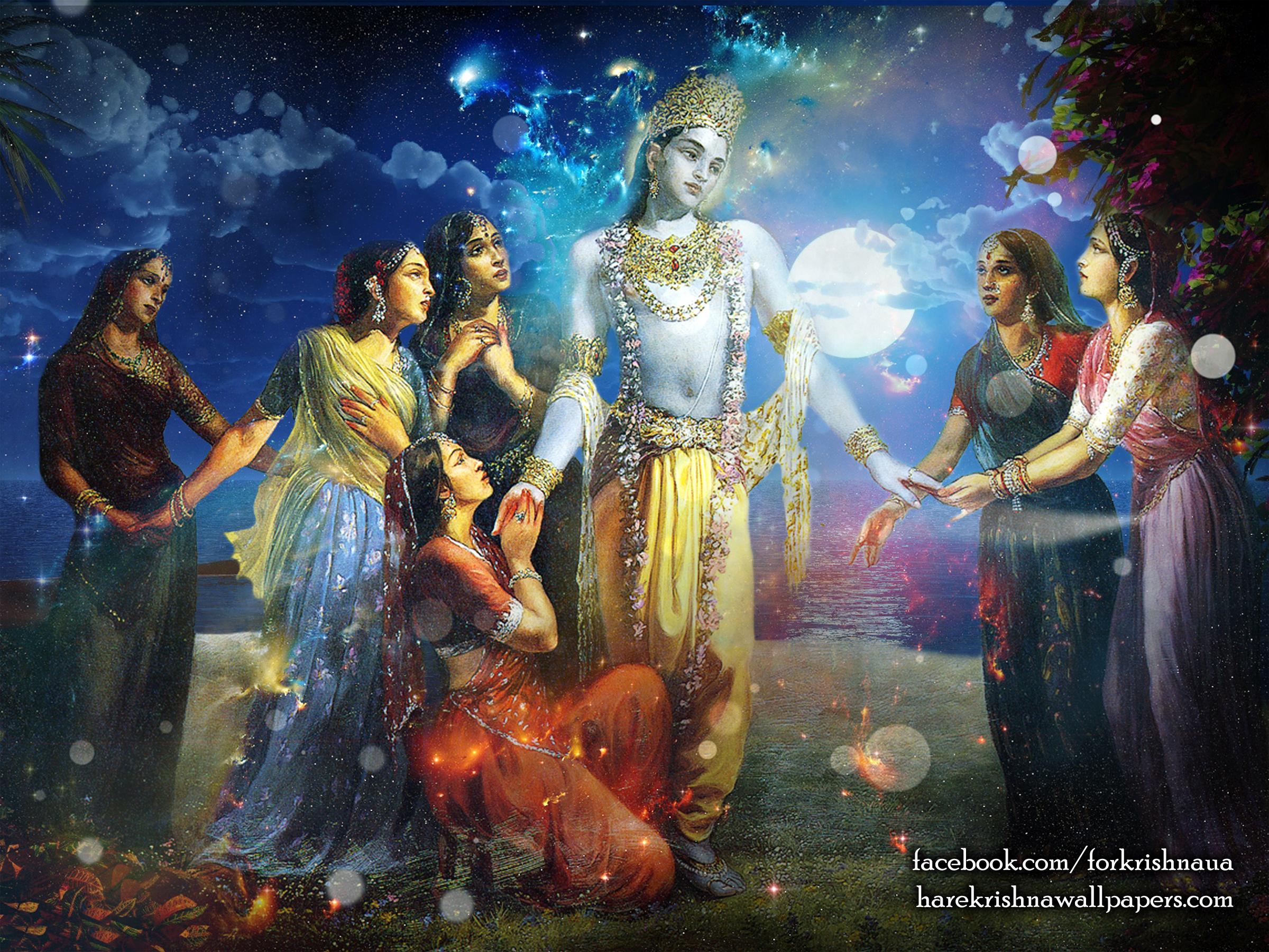 Radha Krishna Wallpaper (018) Size 2400x1800 Download