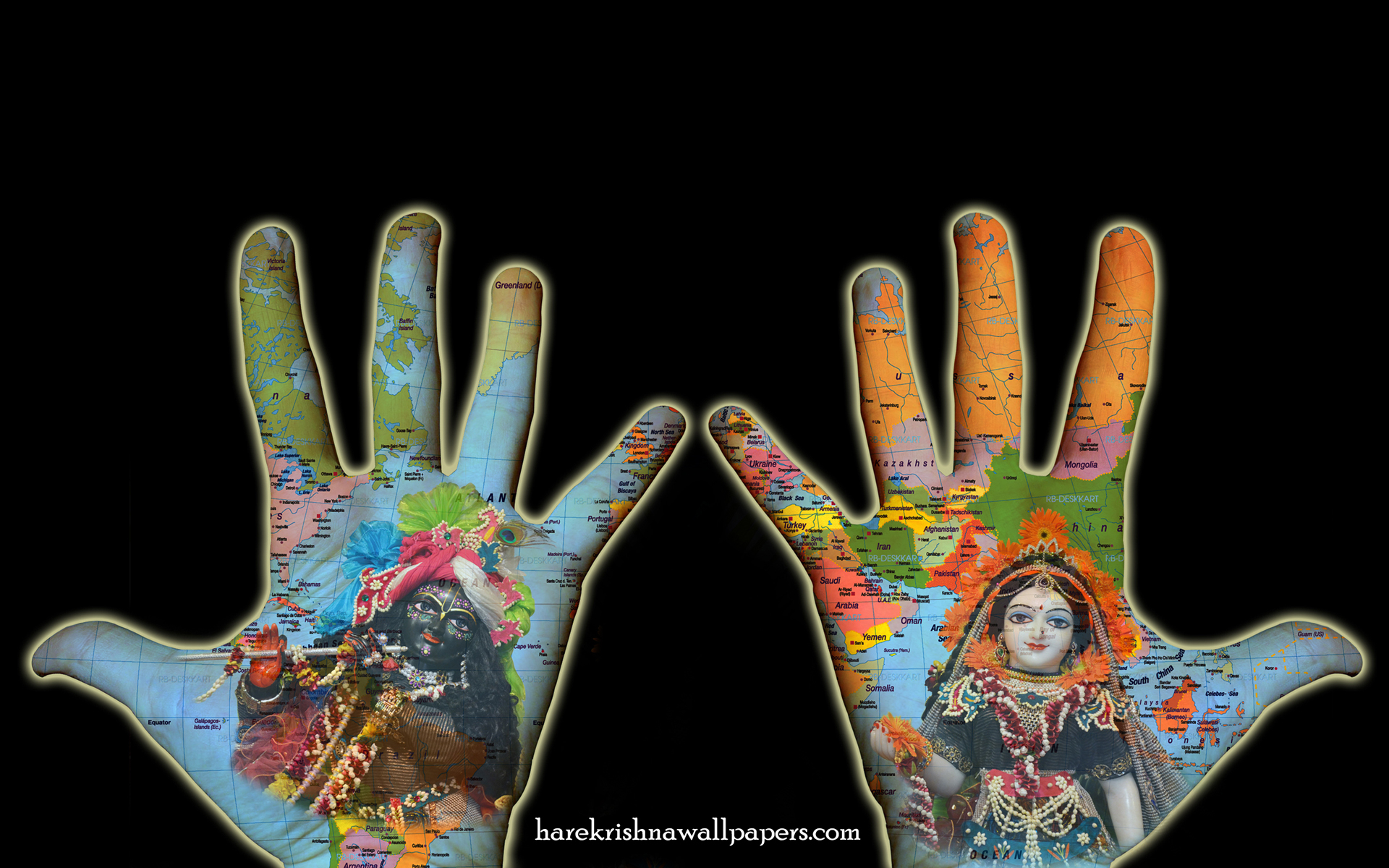 Radha Krishna Wallpaper (028) Size 1920x1200 Download