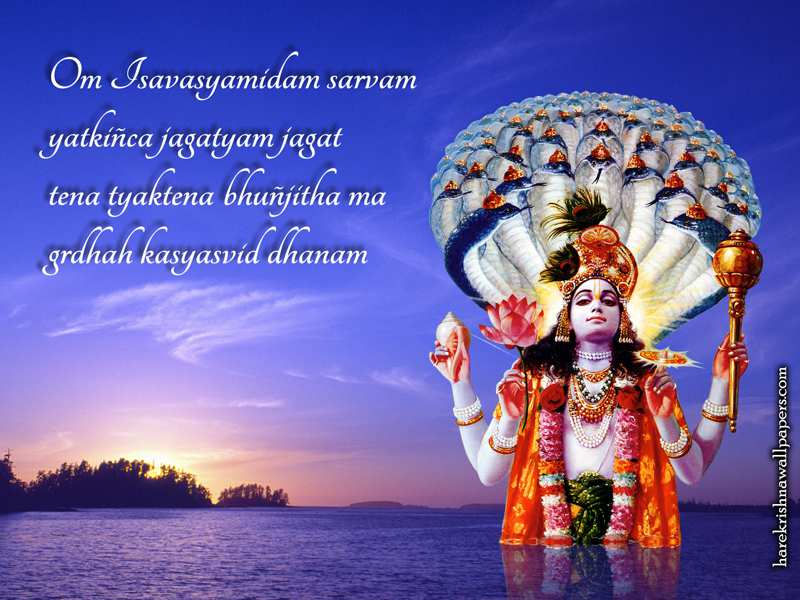 Sri Vishnu Wallpaper (001)