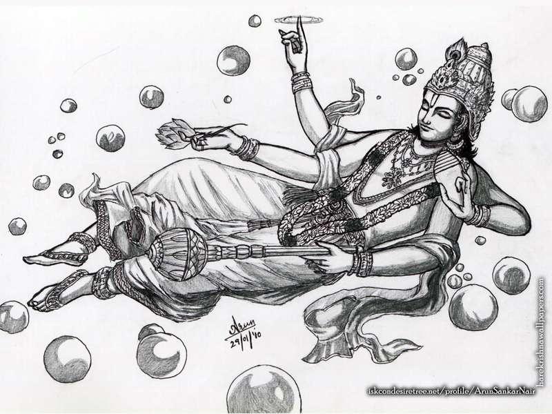 Sri Vishnu Wallpaper, Lord Vishnu Wallpapers, Lord Vishnu Sketch Wallpaper