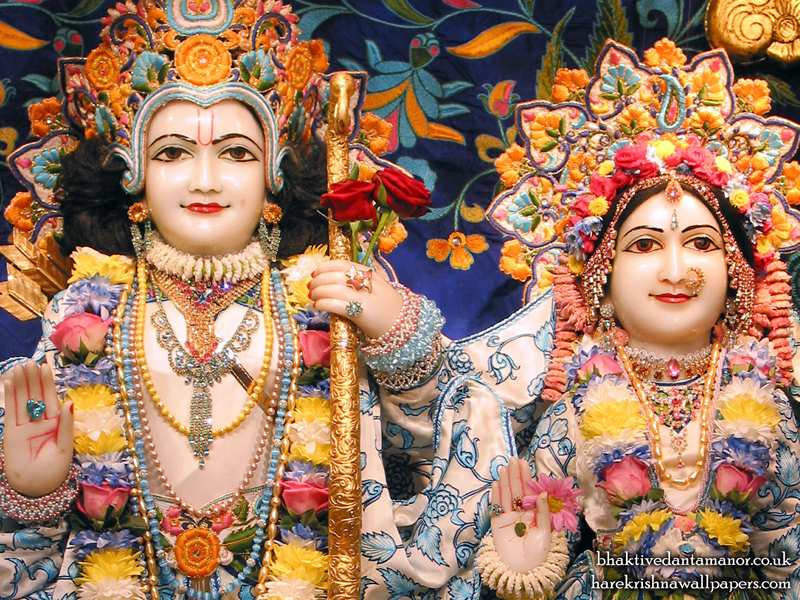 Sri Sri Sita Rama Close up Wallpaper (003)