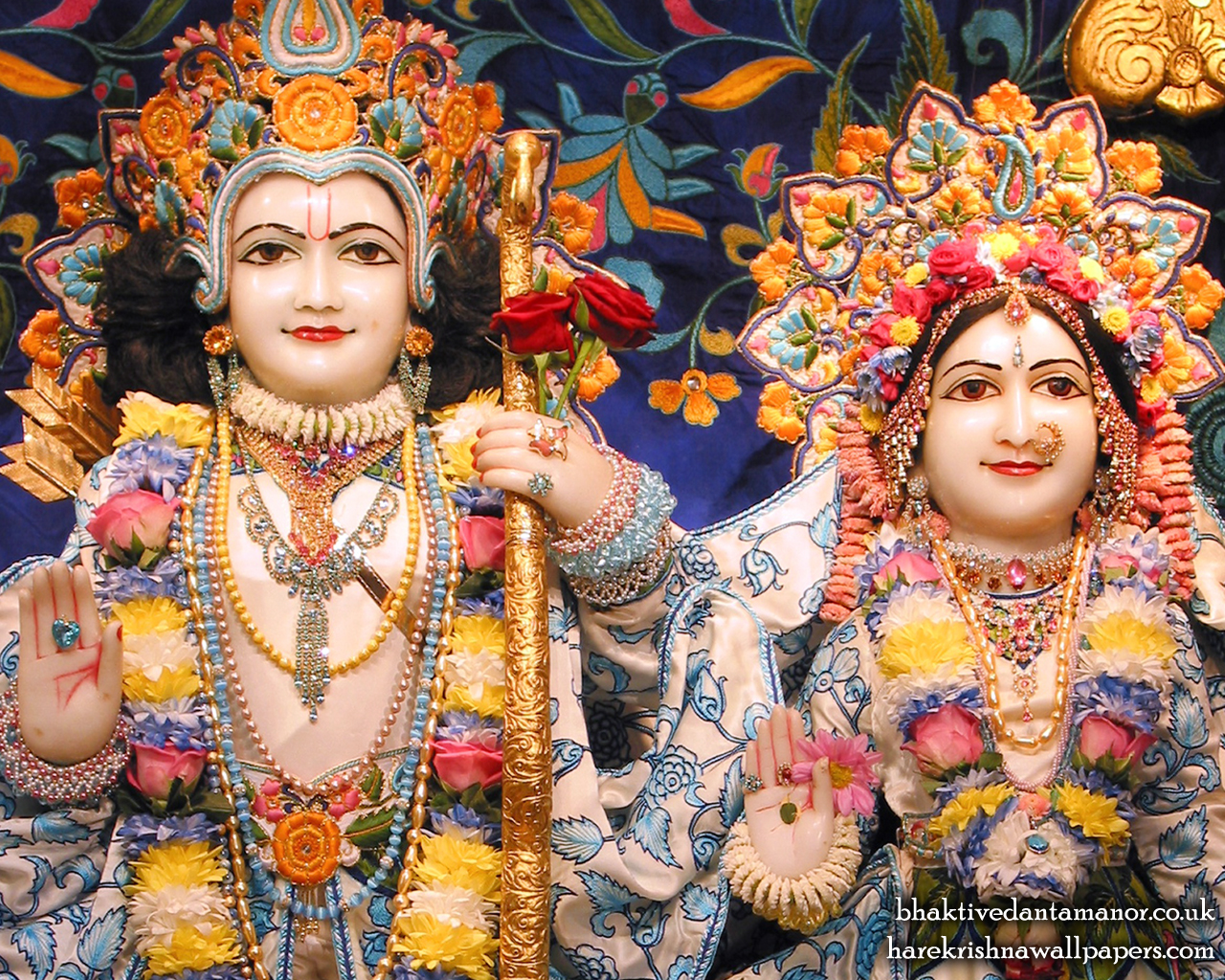 Sri Sri Sita Rama Close up Wallpaper (003) Size 1280x1024 Download