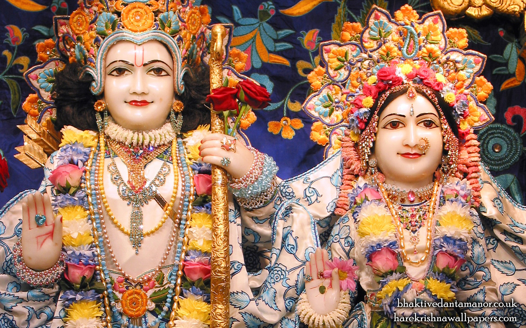 Sri Sri Sita Rama Close up Wallpaper (003) Size 1680x1050 Download