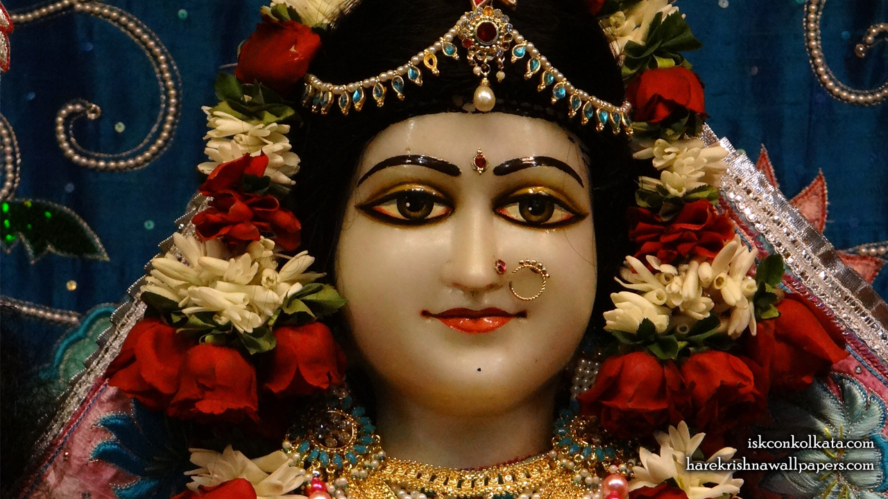 Sri Radha Close up Wallpaper (003) Size 1280x720 Download