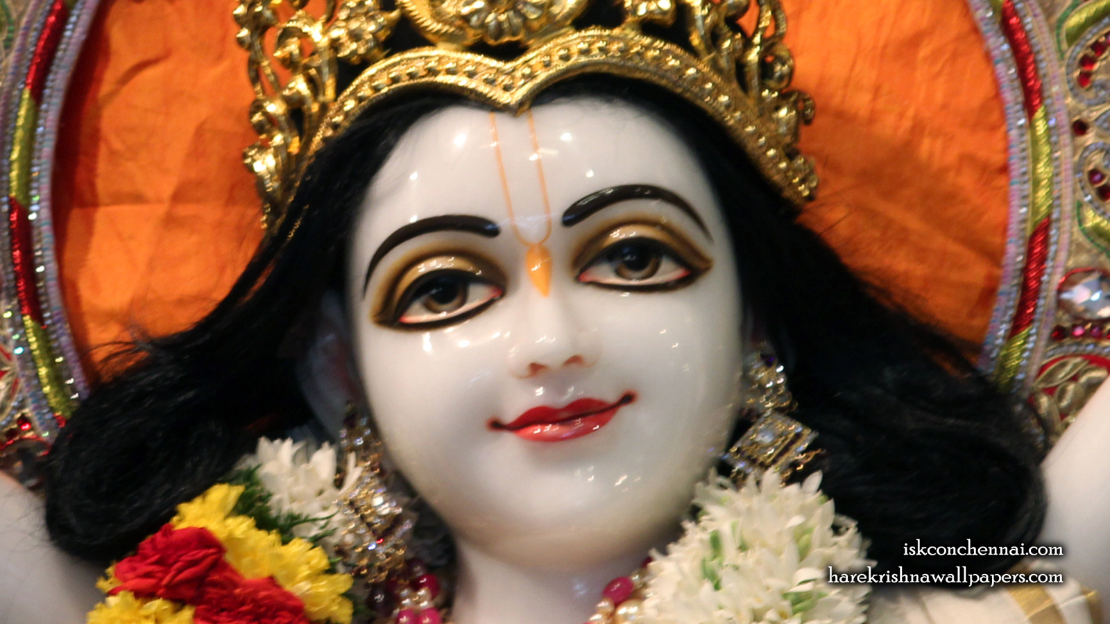 Sri Nitai Close up Wallpaper (001) Size 1600x900 Download